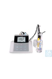 PC820 Precision Benchtop pH/Conductivity Meter Kit Highest accuracy: ±0.002...