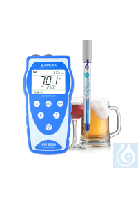 PH8500-BR Portable pH Meter for Beverage Making, equipped with LabSen 213...