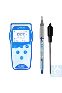 PH8500-SB Portable pH Meter for Strong Basic Solutions Equipped with the...