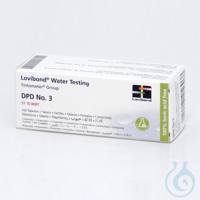 Reagent tablet DPD No. 3 Reagent tablet DPD No. 3 for Chlorine/Chlorine...