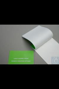 Linsenreinigungspapier, 100x130 mm Linsenreinigungspapier 12g/m², 100x130 mm