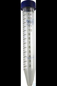 BluCAPP Centrifuge Tubes 15 mL, pre-sterile, 20x25 pcs.  Designed to cover...
