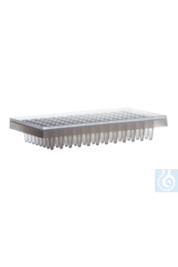 Expell PCR plate of 96 x 0.2 mL, 8x 2 pcs., for ABI cyclers, frosted, sub-skirte CAPP Expell PCR...