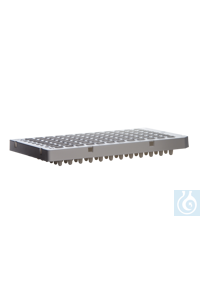 Expell PCR plate of 96 x 0.1 mL, 8x25 pcs., white, semi-skirted CAPP Expell PCR line comprises of...