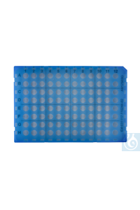Rigid shell frame grid 96 x 0.2 mL for ABI cycler, 1 pc.  CAPP Expell PCR line comprises of 0.1mL...
