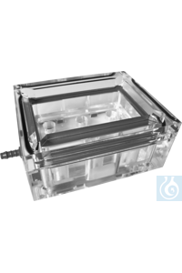 AHN Vaccuum manifold, manual, clear, case, 1 x 1 pc Microfilterplate - 8 x 12...
