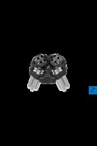 16 x 15 mL Ausswingrotor mit Edelstahlröhrchen, RCF 3485g 16 x 15 mL...