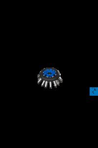 16 x 15 mL Festwinkelrotor, RCF 3144g 16 x 15 mL Festwinkelrotor, RCF 3144g