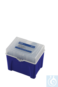 Empty rack for 200 µL reload tips, 50 pcs.  Expell pipette tips reload system is available for 10...