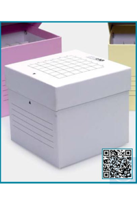 tube box-cardboard-for 50 ml tubes-press on lid-white tube box - cardboard - for 50 ml tubes -...