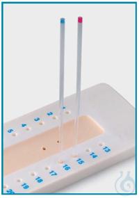 WACHSPLATTE FÜR MICRO HAEMATOCRITRÖHRCHEN Wachs für Mikro Hämatokritröhrche, bietet eine schnelle...