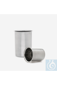 beaker-Low form-stainless steel-250 ml beaker - Low form - stainless steel - 250 ml
