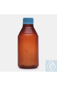 bottle-ISO-screw cap-medium neck-P.P-amber-500ml-sterile bottle - ISO - screw cap - medium neck -...