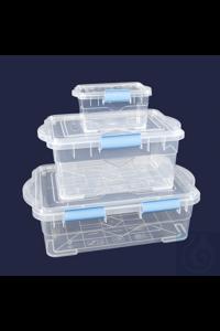 Box-Fester Deckel-2 Stufen Öffnung- 0,75 Liter Box, fester Deckel / Aufbewahrungsbox, hergestellt...