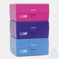 3Artikel ähnlich wie: BOX FÜR DURCHFLUSSKÜVETTEN-PP-120x112x60 MM -BLAU Box für Küvetten,...