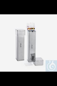 PIPETTENCONTAINER-EDELSTAHL-70x70x210 MM Pipettenbox, hergestellt aus korrosionsbeständigen AISI...