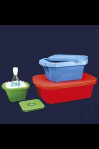 Eisbehälter mit Deckel -Volumen 1L -210x190x115 mm Eisbehälter mit Deckel, aus starrem...