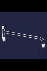 distilling link-without condenser-Cone(s) : NS 14/23-Socket : NS 14/23-150 mm distilling link -...