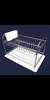 ABTROPFGESTELL-475 x 310 x 310 MM Abtropfgestell,Chromstahl, hergestellt aus...