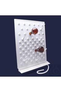 draining rack-with collection tray-122 pegs draining rack - with collection tray - 122 pegs