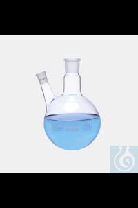 26Panašios prekės flask-rb-2 neck-angled side arm-cn : NS 14/23-side neck : NS 14/ 23-50 ml...