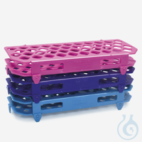microtube rack-P.P-for 5,0 ml tubes-foldable-purple microtube rack - P.P - for 5,0 ml tubes -...