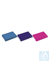 PCR tube rack-P.P-96 well-blue