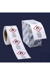 safety labels-GHS 7-warning-26 x 37 mm safety labels - GHS 7 - warning - 26 x 37 mm