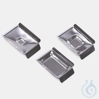 Edelstahlschale Standard-Innenmaß 37 x 24 x 6 mm-Aussenmaß 55 x 38 x 10 mm Einbettformen,...