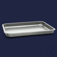 tray-stainless steel-400x500x50 mm-10 l tray - stainless steel - 400x500x50 mm - 10 l