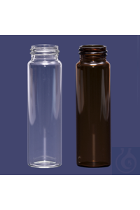 vial-screw cap-N24-27,5x95 mm-40 ml-clear vial - screw cap - N24 - 27,5x95 mm - 40 ml - clear