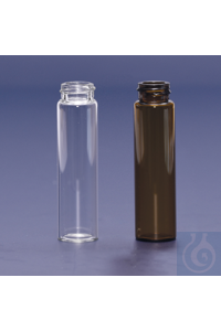 vial-screw cap-N20-22 ml-22,7x86 mm-clear vial - screw cap - N20 - 22 ml - 22,7x86 mm - clear