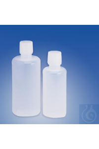 BOTTLE,PE,WITH/38MM CLOSURE,16OZ,12/PKG,10611-0016 Bel-Art Buttress Cap 500ml...