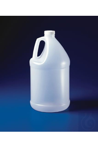 BOTTLE,HDPE,WITH/38MM CLOSURE,1 GALLON10614-0001 Bel-Art Jug-Style 4 Liter (1...