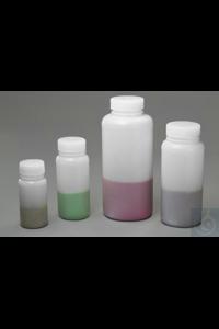 Bel-Art Precisionware Wide-Mouth 125ml (4 oz) High-Density Polyethylene...