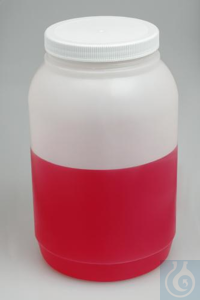 BOTTLE,PE,WIDE MOUTH,1 GAL10638-1010 Bel-Art Wide-Mouth Gallon Polyethylene...