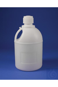 CARBOY,PE,WITH/83MM CLOSURE10795-0000 Bel-Art Polyethylene Carboy with Handle...