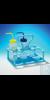 Bel-Art Polypropylene Wash Bottle Carrier; Holds 250/500ml (8/16oz) Bottles,...