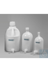 BOTTLE,PE,ASPIRATOR,WITH/SPIGOT,1GALLON11847-0010 Bel-Art Polyethylene...