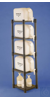 RACK,DISPENSING JUG11851-0000 Bel-Art Dispensing Jug Polyethylene Rack for...