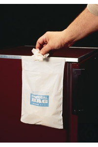 CLEANWARE,BAG,HDPE,LABORATORY WASTE,13174-1008 Bel-Art Cleanware Polyethylene...
