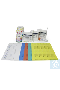 CRYO LABELS SHEETS, 13MM DOTS, WHITE13491-1301 CRYO LABELS SHEETS, 13MM DOTS,...