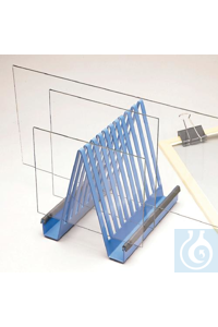 RACK,DRYING,GEL PLATE,ELECTROPHORESIS13595-0000 Bel-Art Electrophoresis Gel...