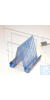 Bel-Art Electrophoresis Gel Plate Drying Rack; Steel, 7¾ x 6¼ x 7? in....