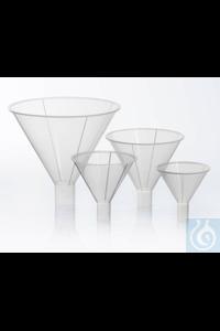 Bel-Art Polypropylene 49ml Powder Funnels (Pack of 12) Bel-Art Polypropylene...
