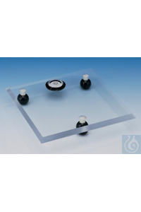 TABLE,ACRYLIC,LEVELING18310-0000 Bel-Art Acrylic Leveling Table; 8 x 8 x ? in.