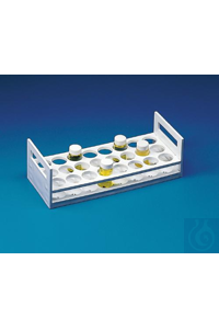 RACK,PP,SCINTILLATION VIAL18512-0000 Bel-Art Scintillation Vial Rack; For...