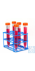 Bel-Art Poxygrid Conical Tube Rack; For 15ml Tubes, 15 Places Bel-Art...