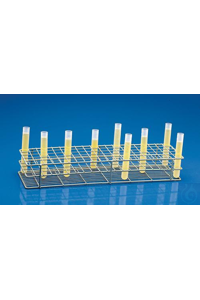 "Bel-Art Poxygrid ""Rack And A Half"" Test Tube Rack; For 10-13mm Tubes, 120..."