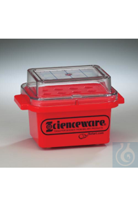 COOLER,MINI,CRYO SAFE,0 C18846-0000 Bel-Art Cryo-Safe Mini Cooler; 0ºC, For...